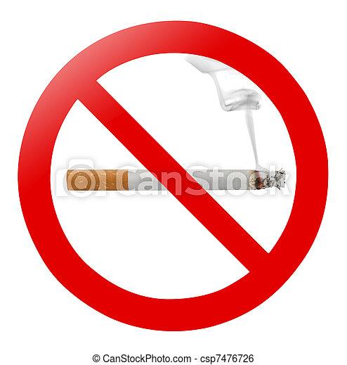No smoking - csp7476726