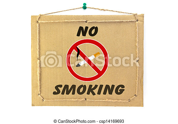 No smoking - csp14169693