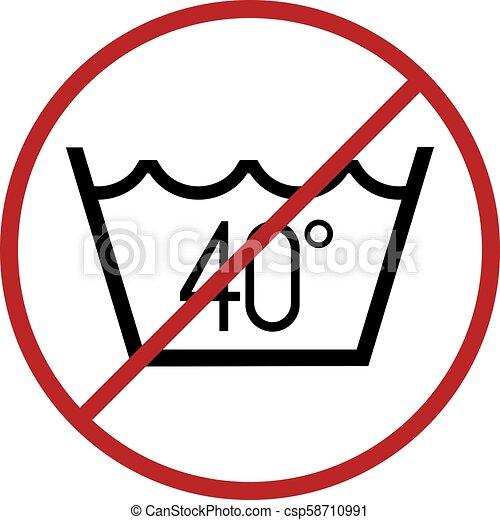Creative Design Of No Wash At 40 Degress