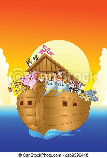 Noah Ark - csp9396448