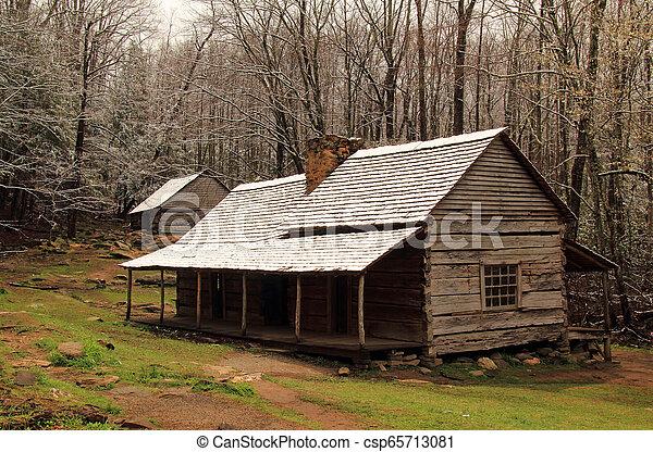 Noah Ogle Homestead - csp65713081