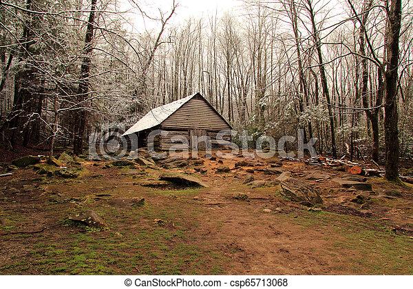 Noah Ogle Homestead - csp65713068
