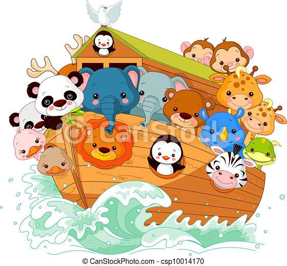 illustration of noah s ark vectors illustration search clipart rh canstockphoto com Noah's Ark Vector Noah's Ark Black and White
