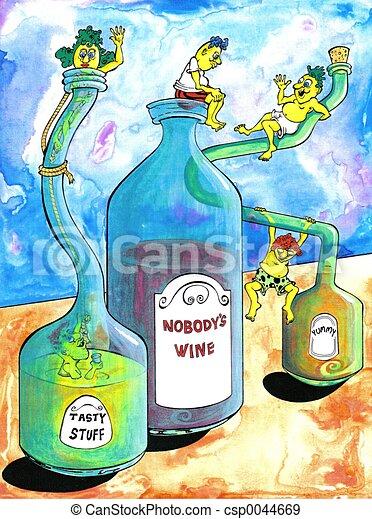 Nobodys Wine - csp0044669