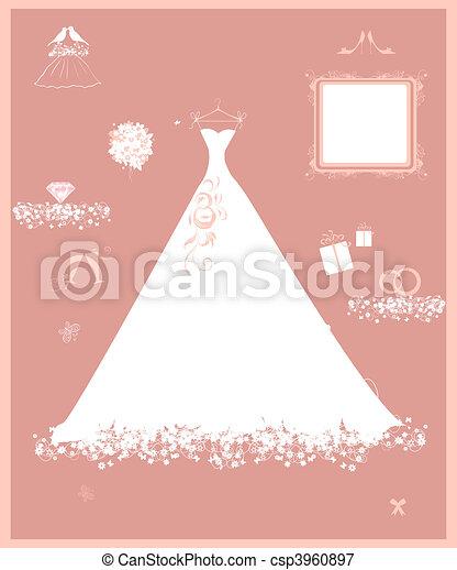 noce blanche, établissez boutique, accessoire - csp3960897
