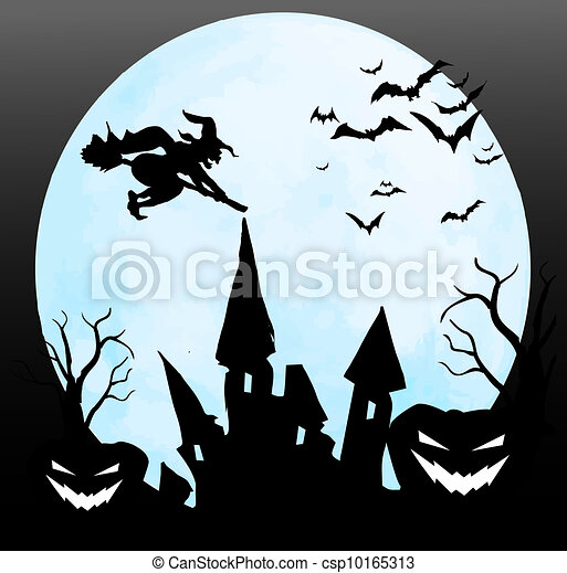 Noche de Halloween - csp10165313