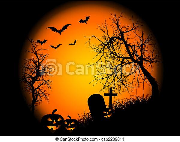 Noche de Halloween - csp2209811