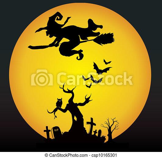 Noche de Halloween - csp10165301