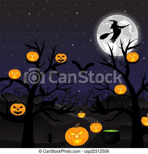 Noche de Brujas - csp22312506