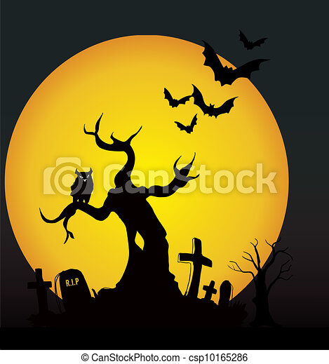 Noche de Halloween - csp10165286
