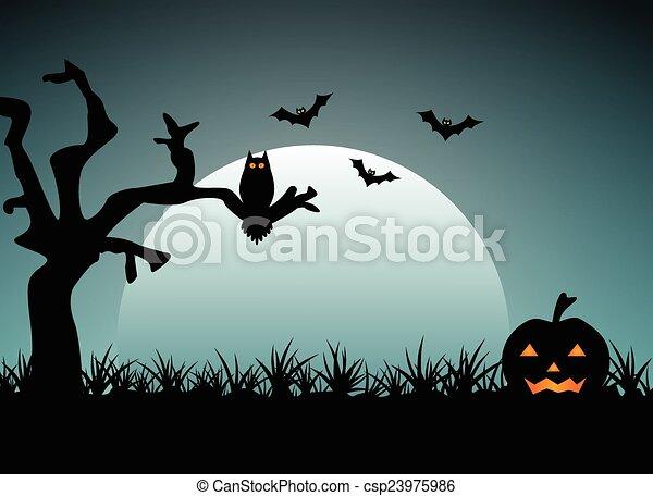 Noche de Brujas - csp23975986