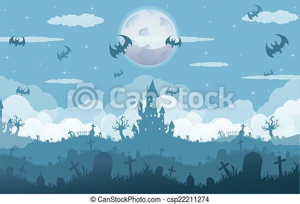 Noche de Brujas - csp22211274