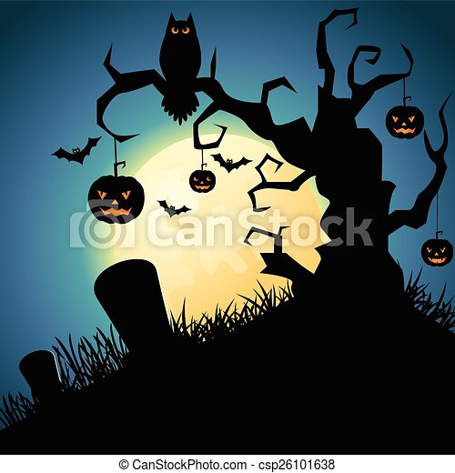 Noche de Brujas - csp26101638