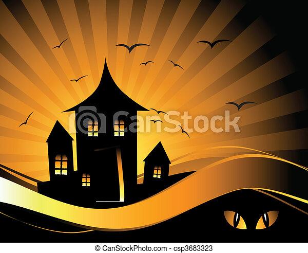 Noche de Halloween - csp3683323