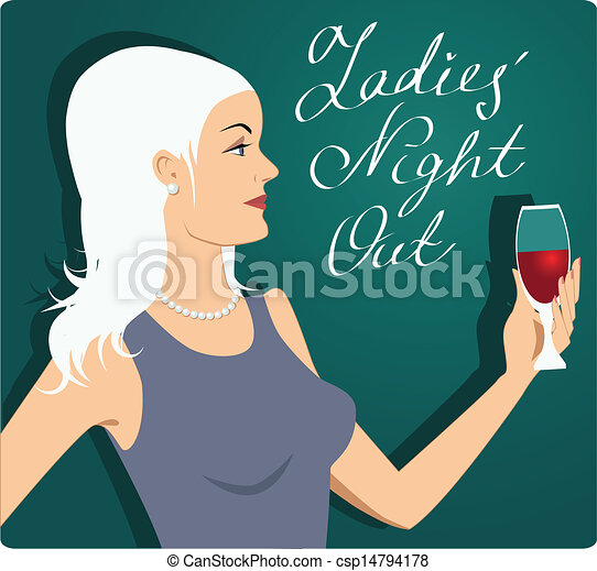 Noche de chicas - csp14794178