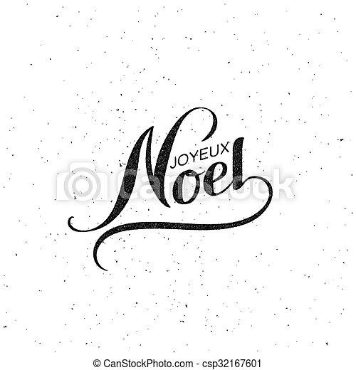 Feliz Navidad. Joyeux noel - csp32167601