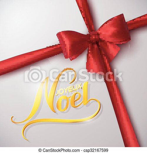 Feliz Navidad. Joyeux noel - csp32167599