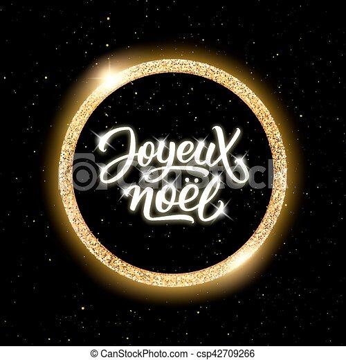 Literatura Joyeux noel. Feliz Navidad en francés - csp42709266