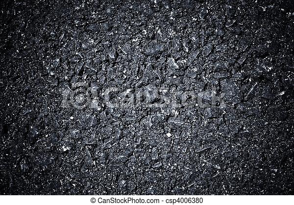 noir, asphalte, texture - csp4006380