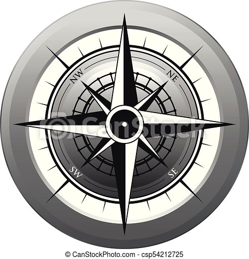 noir, compas - csp54212725