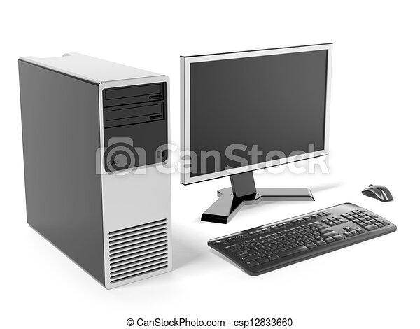 Petit bureau informatique elise en merisier de style louis