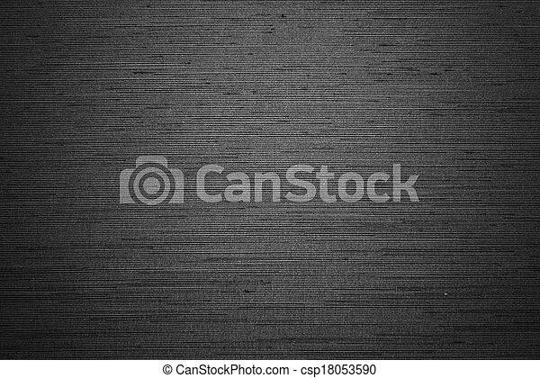 noir, texture, fond - csp18053590