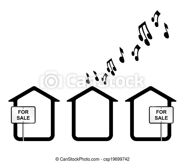 Monochrome concept of noisy neighbours isolated on white eps noisy neighbours csp19699742 altavistaventures Image collections