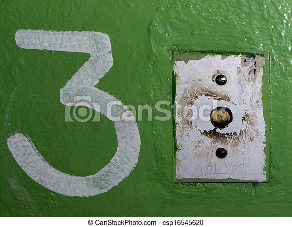 nombre, 3. - csp16545620