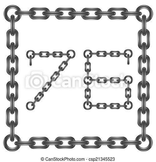 nombres, chaîne - csp21345523