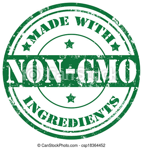 Non Gmo Stamp Grunge Rubber Stamp With Text Made With Non