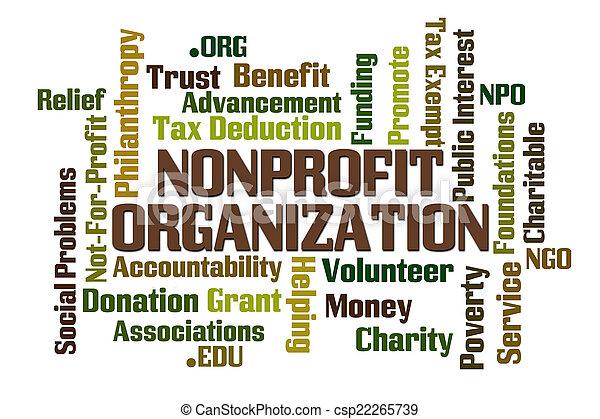 Non Profit Organization - csp22265739