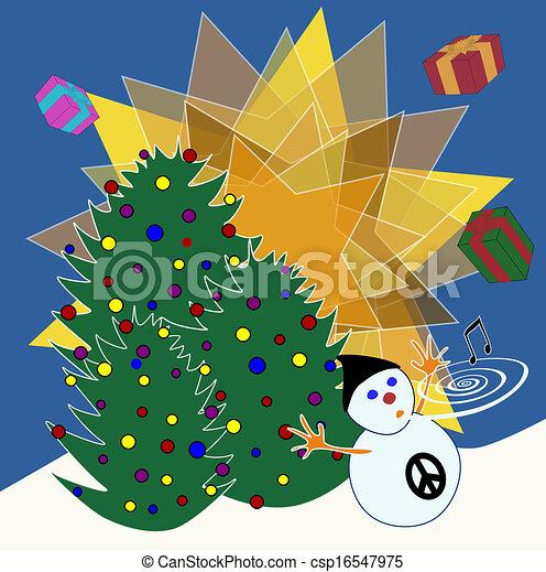 Religious Christmas Music.Non Religious Christmas Card