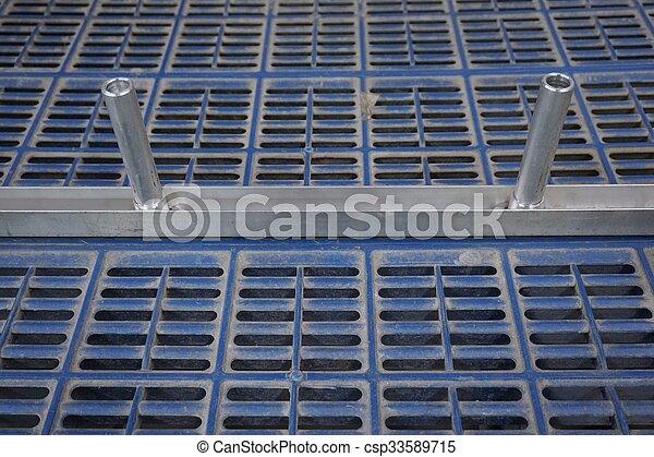 non slip plastic floor  - csp33589715
