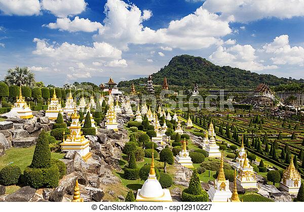 Nong Nooch Garden In Pattaya, Thailand