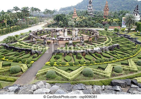 Nongnooch Tropical Botanical Garden