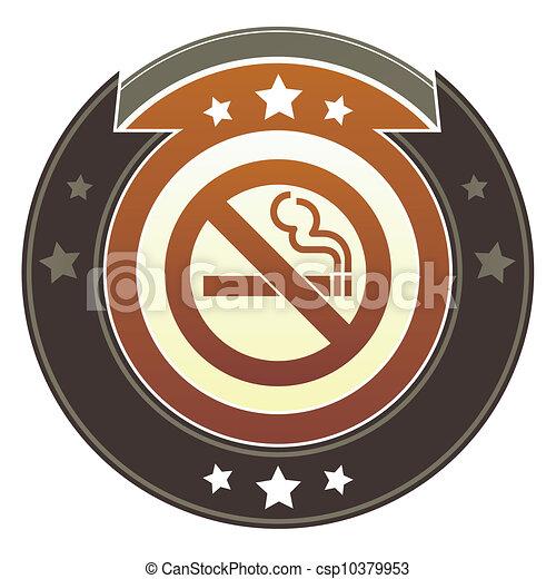 Nonsmoking imperial button - csp10379953