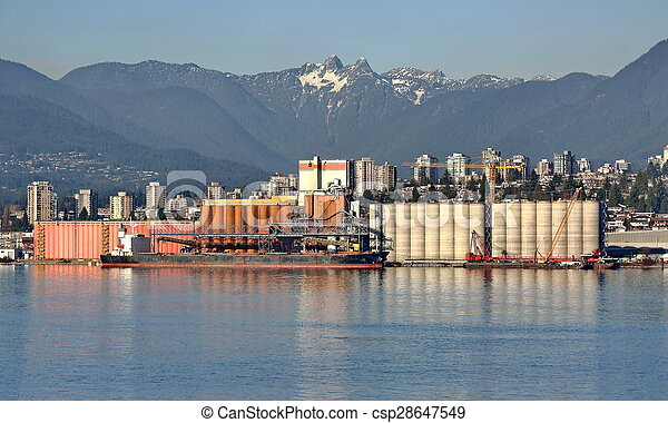 nord, vancouver, port - csp28647549
