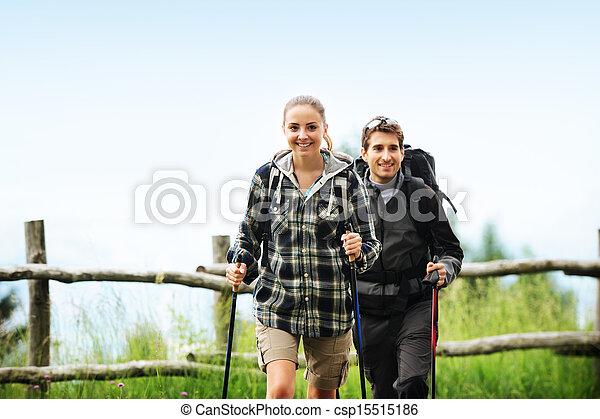 Nordic Walking - csp15515186