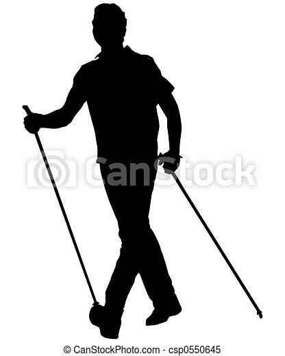nordic walking - csp0550645