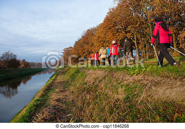 nordic walking - csp11846268