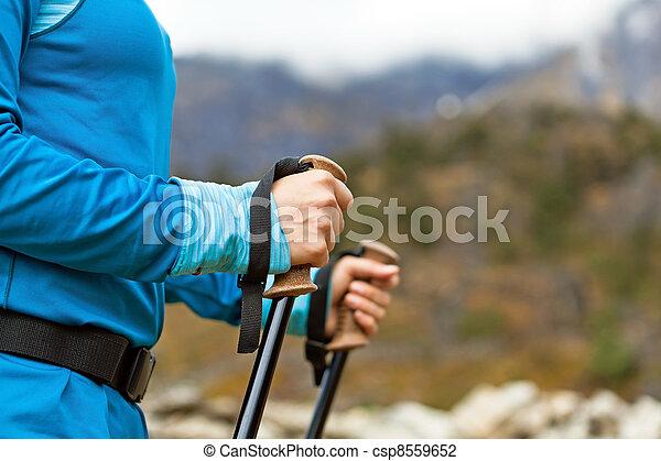 Nordic walking - csp8559652
