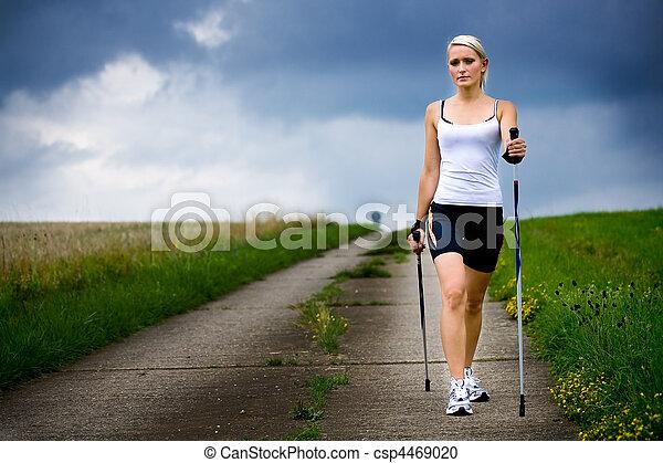 nordic walking - csp4469020