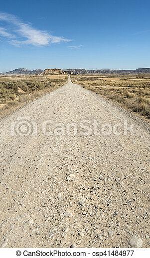 Sucio camino americano - csp41484977