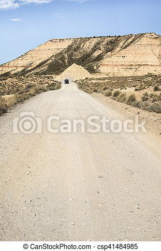 Sucio camino americano - csp41484985