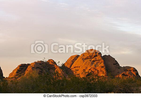 El desierto americano - csp3972333