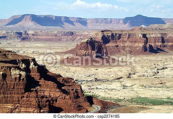 norteamericano, desierto - csp2274185