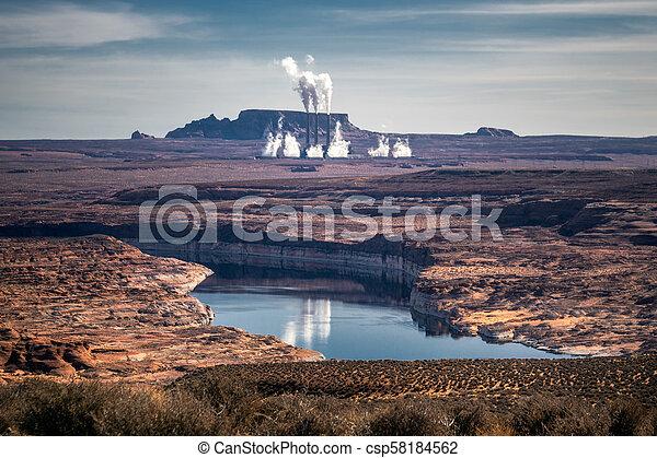 Formaciones americanas del desierto - csp58184562
