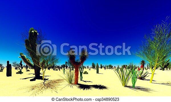 El desierto americano - csp34890523