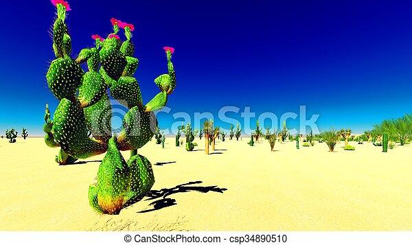 El desierto americano - csp34890510