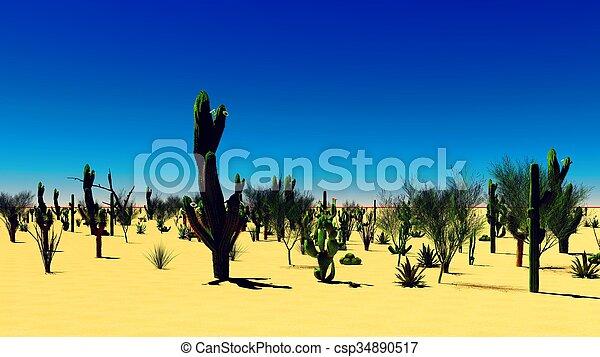El desierto americano - csp34890517